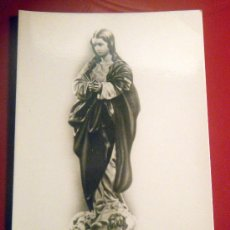 Postales: ESTAMPA RELIGIOSA FOTOGRÁFICA PURÍSIMA DE ALONSO CANO GRANADA. Lote 17453783