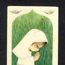 Postales: ESTAMPA RELIGIOSA ILUSTRADA PER FERRANDIZ (MANCHA PARTE SUPERIOR). Lote 18395357