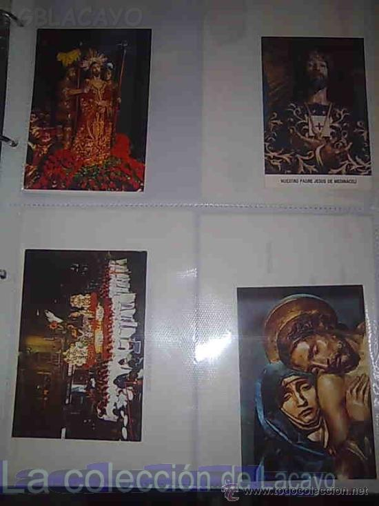 ALBUM CON FOTOS Y POSTALES DE LA SEMANA SANTA DE CARTAGENA (Postales - Postales Temáticas - Religiosas y Recordatorios)