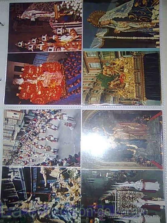 Postales: ALBUM CON FOTOS Y POSTALES DE LA SEMANA SANTA DE CARTAGENA - Foto 3 - 18525742