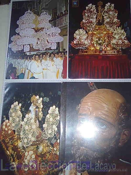 Postales: ALBUM CON FOTOS Y POSTALES DE LA SEMANA SANTA DE CARTAGENA - Foto 6 - 18525742