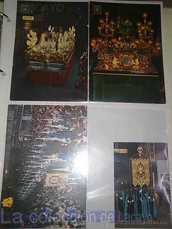 Postales: ALBUM CON FOTOS Y POSTALES DE LA SEMANA SANTA DE CARTAGENA - Foto 7 - 18525742