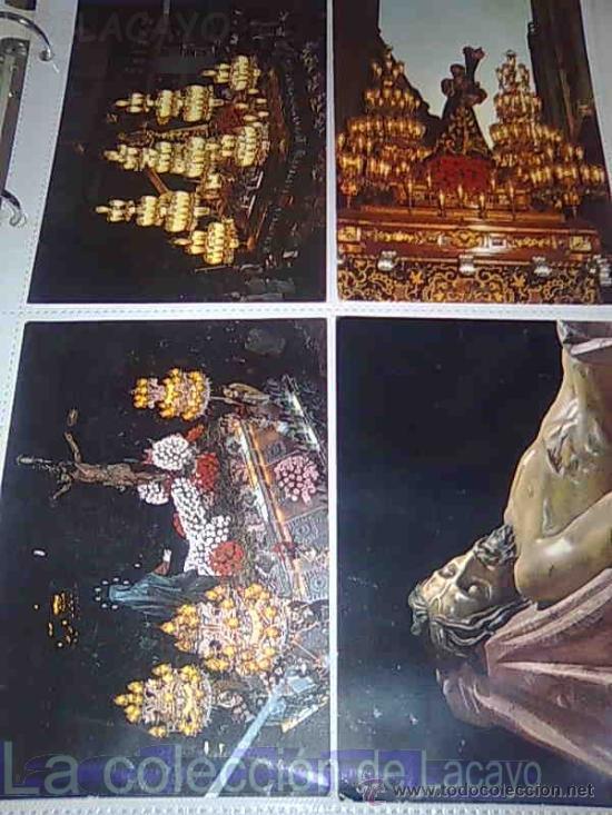 Postales: ALBUM CON FOTOS Y POSTALES DE LA SEMANA SANTA DE CARTAGENA - Foto 13 - 18525742