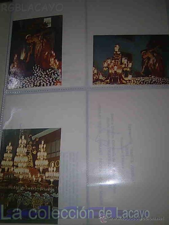 Postales: ALBUM CON FOTOS Y POSTALES DE LA SEMANA SANTA DE CARTAGENA - Foto 14 - 18525742