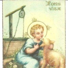 Postales: FONS VILA ESTAMPA RELIGIOSA 7X11CM. Lote 18876453