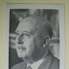 Postales: RECORDATORIO DE FRANCO. TEXTO DE FRANCO EN EL DORSO. Lote 18910848