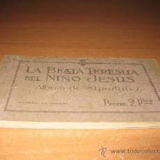 Postales: BLOC DE LA BEATA TERESITA DEL NIÑO JESUS. Lote 18930387