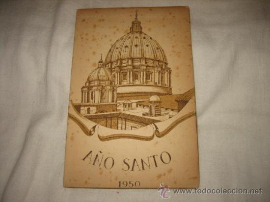 AÑO SANTO 1950 PLEGARIA PARA EL AÑO SANTO (Postales - Postales Temáticas - Religiosas y Recordatorios)