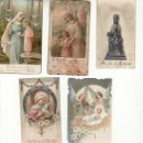 Postales: LOTE DE 5 RECORDATORIOS. VER FOTOS ADICIONALES. MAS COLECCIONISMO EN RASTRILLOPORTOBELLO. Lote 26016561