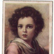 Postales: ESTAMPA RELIGIOSA - EL DIVINO PASTOR (MURILLO, MUSEO DEL PRADO). Lote 19264170
