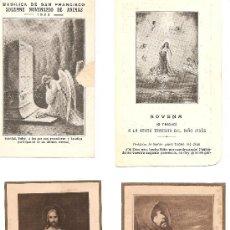 Postales: RECORDATORIOS 4. Lote 19878990