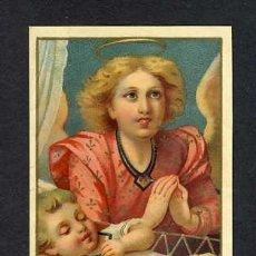 Postales: ESTAMPA RELIGIOSA: ANGEL DE LA GUARDA. Lote 20484369