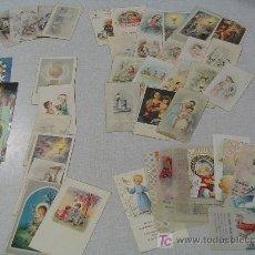 Postales: 46 RECORDATORIOS DE COMUNIÓN DE LOS AÑOS 40, 50, 60 Y 70. Lote 27319937