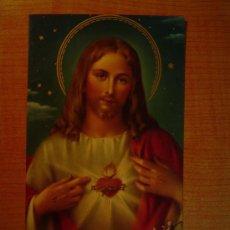 Postales: POSTAL SAGRADO CORAZON DE JESUS. Lote 20907790