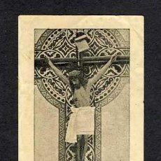 Postales: ESTAMPA RELIGIOSA: IMATGE QUE ES VENERAVA A SANT JOSEP DE BADALONA I QUE FOU PROFANADA EL 1936. Lote 21510204