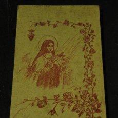 Postales: PRECIOSO BLOC DE COLECCION DE POSTALES DE SANTA TERESITA DEL NIÑO JESUS. CON 18 POSTALES. Lote 25443314