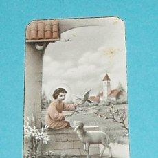 Postales: ESTAMPA RECUERDO PRIMERA COMUNIÓN. VALENCIA. 1948. Lote 21887798