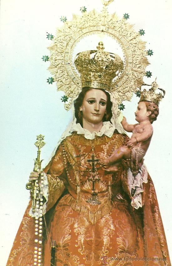 Tarjeta tamao postal virgen del rosario patr comprar postales tarjeta tamao postal virgen del rosario patrona de bullas murcia thecheapjerseys Choice Image