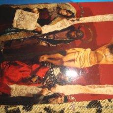 Postales: FOTOGRAFIA DE CRISTO EN LA CRUZ. Lote 22566406