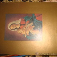 Postales: CRISMA NAVIDEÑO CON VIRGEN Y NIÑO JESUS. Lote 22566473