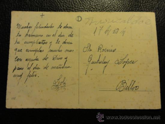 Postales: POSTAL RELIGIOSA - NTRA. SRA. DE BEGOÑA - Foto 2 - 23567174