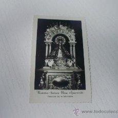 Postales: ESTAMPA FOTOGRAFICA VIRGEN NTRA. SEÑORA DE LA BIEN APARECIDA - PATRONA DE LA MONTAÑA - SANTANDER. Lote 24028353