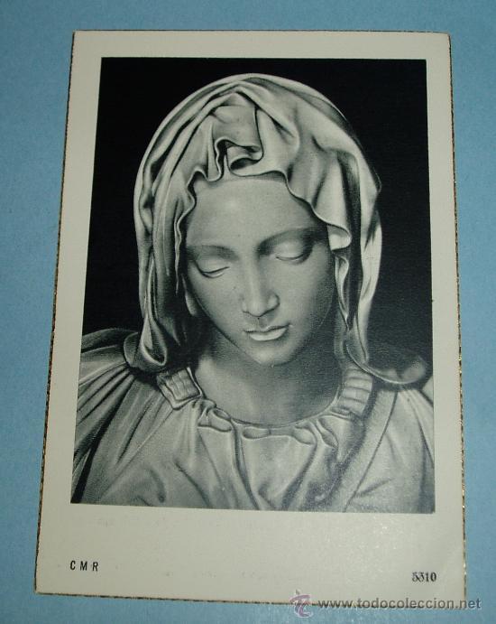 TARJETA RECORDATORIO FALLECIMIENTO 1961. C.M.R. 5310 (Postales - Religiosas y Recordatorios)