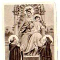 Postales: ESTAMPA RELIGIOSA. NTRA. SRA. DEL ROSARIO.. Lote 24876528