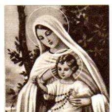 Postales: ESTAMPA RELIGIOSA. NTRA. SRA DEL ROSARIO.. Lote 24876711