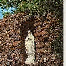 Postales: POSTAL RELIGIOSA -SAN MAURICIO GRUTA DE LOURDES CALDAS DE MALAVELLA GERONA. Lote 25003517