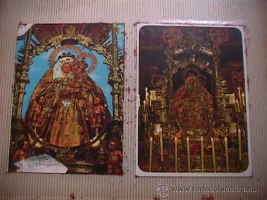 ALBUM CON 134 POSTALES Y ESTAMPAS MARIANAS (Postales - Postales Temáticas - Religiosas y Recordatorios)