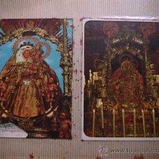 Postales: ALBUM CON 134 POSTALES Y ESTAMPAS MARIANAS. Lote 25088176