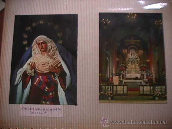 Postales: Album con 134 postales y estampas marianas - Foto 2 - 25088176