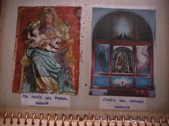 Postales: Album con 134 postales y estampas marianas - Foto 3 - 25088176