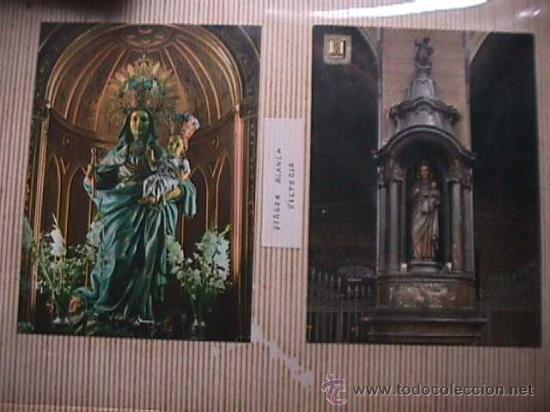 Postales: Album con 134 postales y estampas marianas - Foto 4 - 25088176