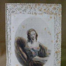 Postales: ESTAMPA DE PUNTILLA, TROQUELADA, LA FRACHON, 26 X 18 CM, G. DE GONET EDITEUR. Lote 25736946