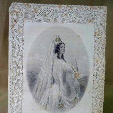 Postales: ESTAMPA DE PUNTILLA, TROQUELADA, LA COURONE, G. DE GONET EDITEUR, 26 X 18 CM. Lote 25737635