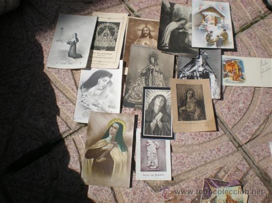 13 POSTALES DE RECUERDO DE EXPOSICION MISIONAL ESPAÑOLA AÑO 1929 (Postales - Postales Temáticas - Religiosas y Recordatorios)