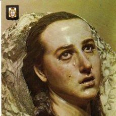 Postales: MURCIA - 61 MUSEO SALZILLO - LA DOLOROSA (DETALLE). Lote 25405550