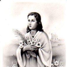 Postales: POSTAL RELIGIOSA DE SANTA MARIA GORETTI - MARTIR DE LA PUREZA. Lote 26340937