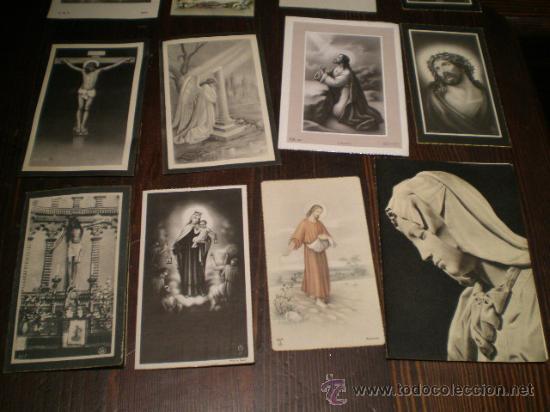 Postales: DOCE RECORDATORIOS DE DEFUNCION - AÑOS 50-60 - Foto 3 - 26455233