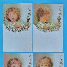 Cartes Postales: ESTAMPA PRIMERA COMUNION / RECORDATORIO - DIB. VIVES - ED.EDICROMO - COL.DE 4 - R-2433 - AÑO 1982. Lote 26576940