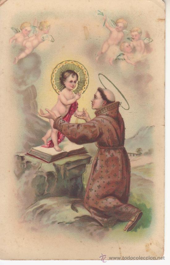 G.G.K. Nº332 SAN ANTONIO (Postales - Postales Temáticas - Religiosas y Recordatorios)