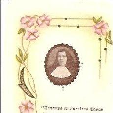 Postales: MADRE TERESA DE JESÚS FORNET, FUNDADORA DE LAS HERMANITAS DE ANCIANOS DESAMPARADOS - SIN FECHA. Lote 27634259