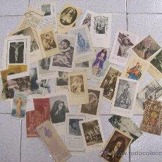 Postcards - LOTE DE 43 ESTAMPAS RELIGIOSAS - 27800223