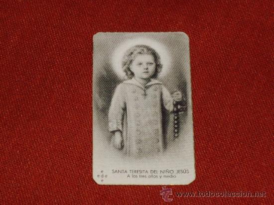 Postales: SANTA TERESITA DEL NIÑO JESUS (SU VIDA EN 20 MINI-ESTAMPAS) AÑO 1930 ? - Foto 7 - 28223195