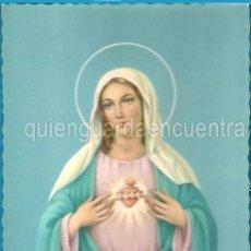Postales: POSTAL DE LA VIRGEN CORAZÓN DE MARÍA CYZ 6234 NUEVA. Lote 28263897