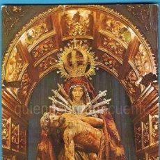Postales: POSTAL DE LA BAÑEZA, LEÓN VIRGEN DE LAS ANGUSTIAS EX. R. RINCÓN AÑOS 60-70. Lote 28265240