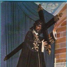 Postales: POSTAL DE JESÚS NAZARENO DE LA BAÑEZA, LEÓN AÑOS 80. NUEVA, SEMANA SANTA. Lote 28401366