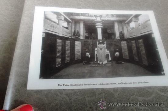Postales: UM PADRE MISSIONARIO FRANCISCANO CELEBRANDO MISSA ACOLITADO POR DOIS PRETINHOS. - Foto 1 - 28458004